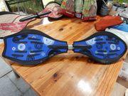 blaues Waveboard wenig genutzt
