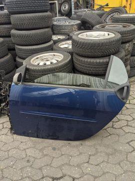 Smart 450 Fahrertür Tür links Coupe star blue metallic