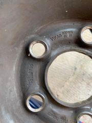 4 Stahlfelgen für Reifengröße 165