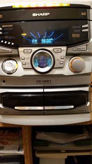 Sharp- Kompakt Musikcenter 30x30x26