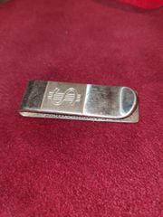 Silber 825 Italy Geldscheinklammer Massiv