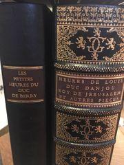 Faksimile seltenes Buch es Petites