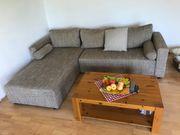 Couchgarnitur L-Form mit Bettkasten