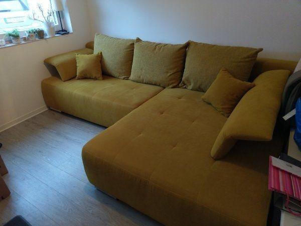 Ausziehbare Couch unglaublich bequem