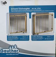 GEUTHER Schwenk-Türschutzgitter 2734