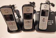 Gigaset A600H 2x Mobilteile und