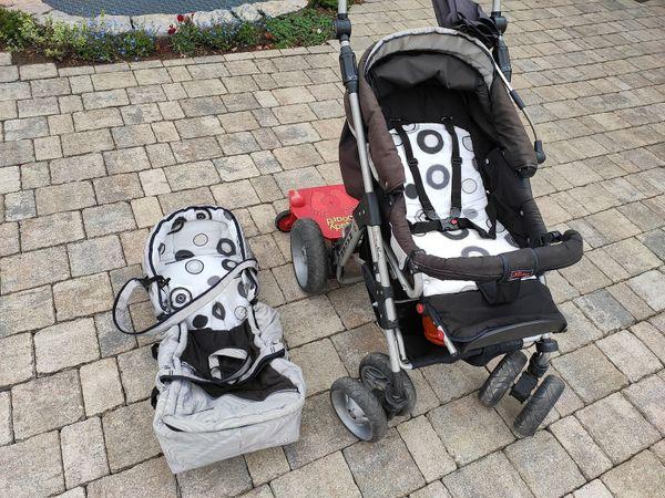 Kinderwagen Hartan Racer mit Tasche