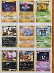 Sammlungsauflösung 190 Stück Pokemon Sammelkarten