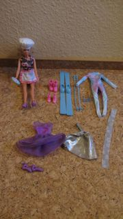 Adventskalender Barbie mit Kochhut Ski