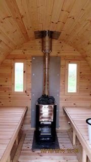 Sauna Gartensauna Saunafass L300 D220cm