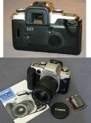 Canon EOS 50E analog mit
