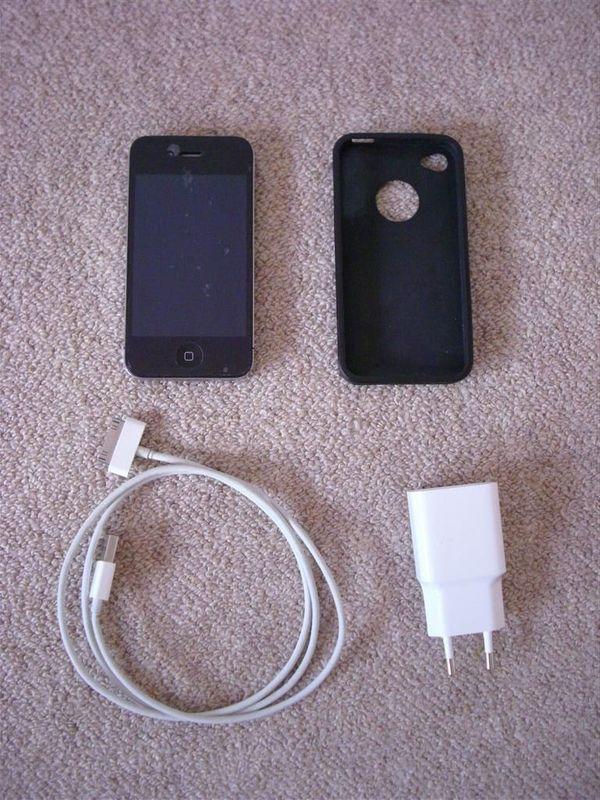 iPhone 4 schwarz