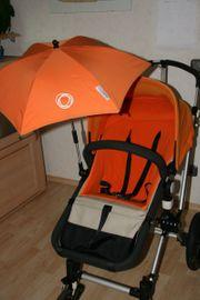 Sonnenschirm passend zum Kinderwaagen von