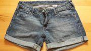 Jeansshorts blau Gr 34 H