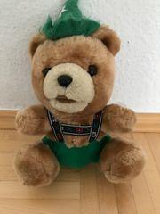 Bavariashop Jodelbär Bayerischer Teddy Trachtenhut