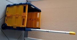 Campingartikel - fahrbare Klappbox Pack und Roll