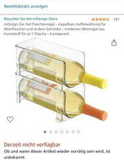 Flaschenhalter Weinflaschenhalter Kühlschrank