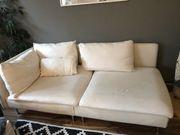 söderhamn Ikea Couch weiß