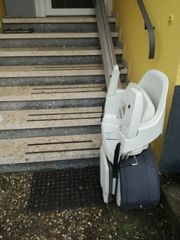 Treppenlift Sitz Lift Aussen Treppenlift