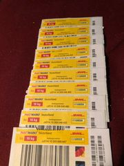 10 DHL Paketmarken bis 10