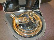 King 2350S Silver Sousaphone with