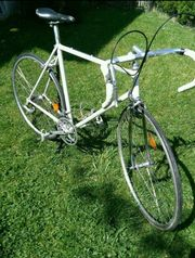 Rennrad fahrbereit