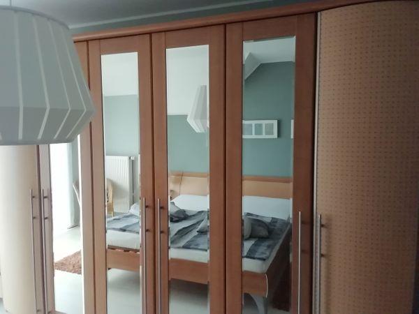 Kpl Schlafzimmer Schrank Bett Nachttisch