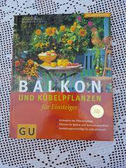 Neuwertiges modernes Gartenbuch Balkon u