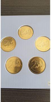 2 Euro Münzen aus Sammlung