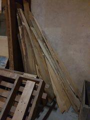traumhafte Holzlatten