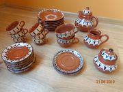 Bulgarische Keramik - Pfauenauge