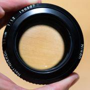 Nikon Noct-Nikkor 58mm f1 2 Ai-S