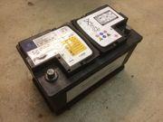 Batterie 80Ah Autobatterie Bleiakku Mercedes