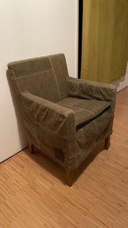 Sessel mit abnehmbarem Bezug