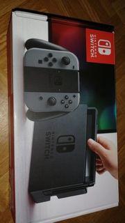 Nintendo Switch mit allem drum