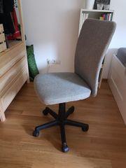 Beiger Schreibtischstuhl