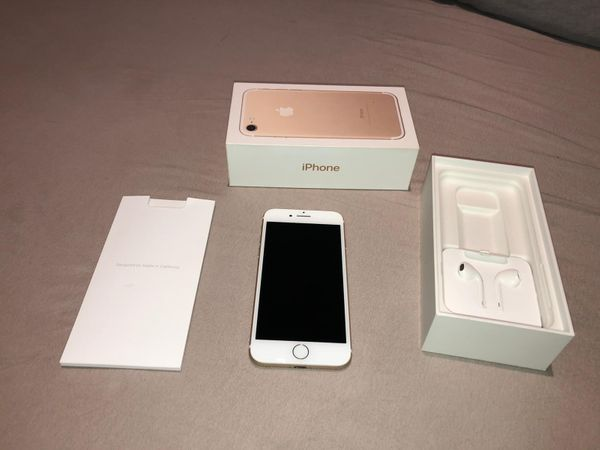 Iphone 7 Gold mit Hülle