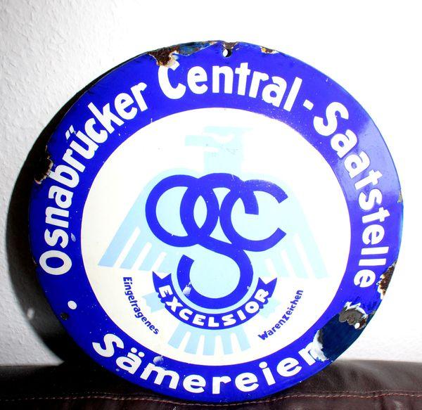 Emailschild Osnabrücker Central Saatstelle