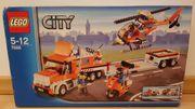 Lego 7686 Transporter mit Hubschrauber