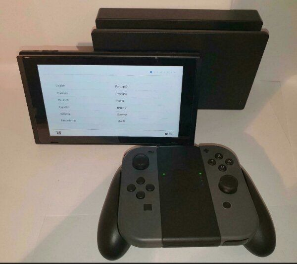Nintendo Switch in Grau