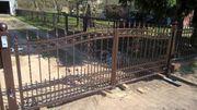 Zaun aus Polen Tor aus