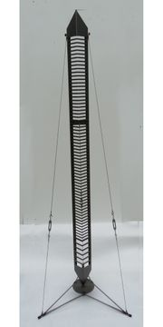 CD-Ständer Turm Regal Metall Naturzustand