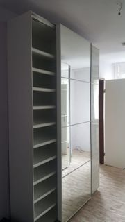PAX Schuhschrank Schwebe Türen 10x