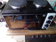 Grill mit 2 Kochplatten