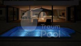 Sonstiges für den Garten, Balkon, Terrasse - GFK Schwimmbecken Pool 5 x