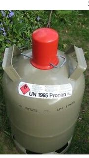 Gasflasche 11Kg grau Eigentum leer