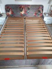 Bett Doppelbett Polsterbett 160x200 cm