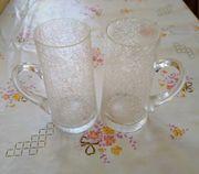 2 Gläser Bauernglasoptik mit Henkel