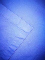Tischtuch blau mit 3 cm