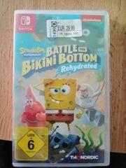 NEU SpongeBob Nintendo switch